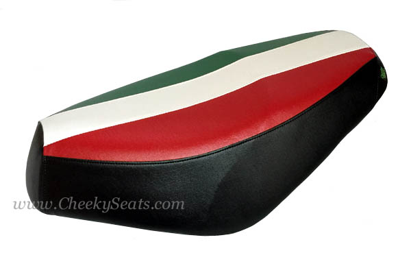 Italian Flag Scooter Seat Cover Genuine Buddy Waterproof